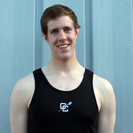 A head-and-shoulders photo of Michael Clougher '15 from when he was a student at Connecticut College.
